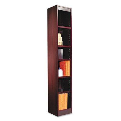 Narrow Profile Standard Bookcase Finish: Mahogany