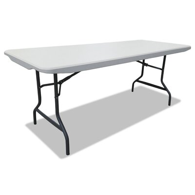Rectangular Folding Table Size: 72L x 30H x 29W