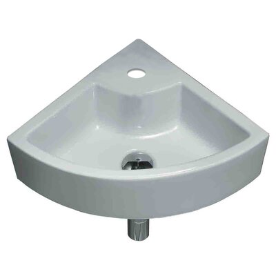 Ceramic Specialty Vessel Bathroom Sink Hardware Finish: Chrome
