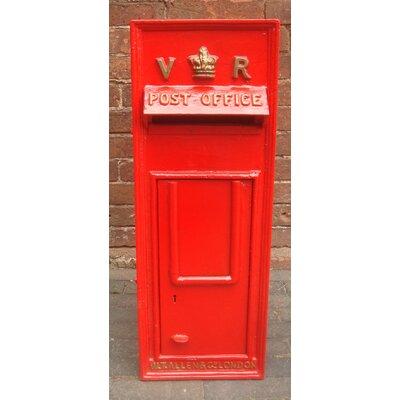 Blackbrook Replica Royal Post Mailbox with Lock