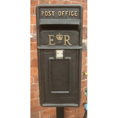 Blackbrook Replica Royal Post Box with Lock