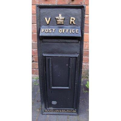 Blackbrook Replica Royal Mail Victoria Regina Post Box with Lock