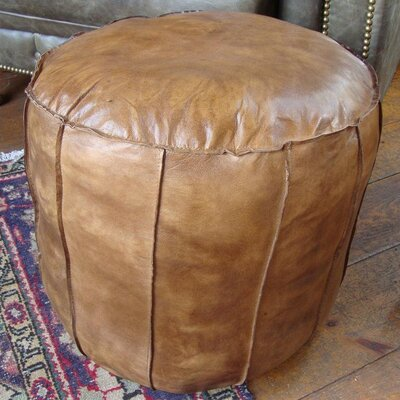 Blackbrook Leather Footstool