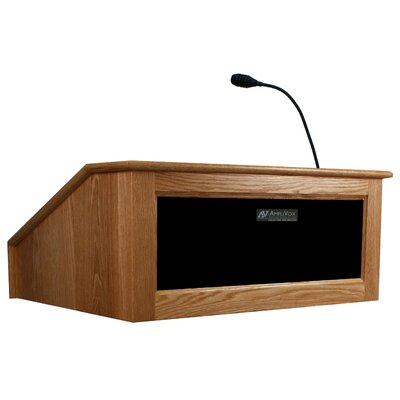 Wired Victoria Tabletop Lectern Finish: Cherry