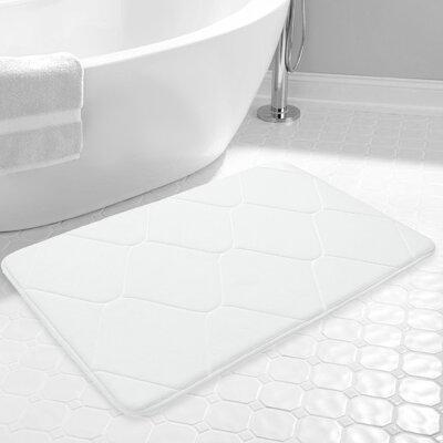 Carnside Bath Rug Color: White