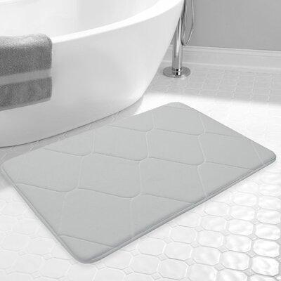 Carnside Bath Rug Color: Gray
