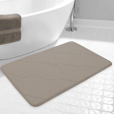 Carnside Bath Rug Color: Taupe