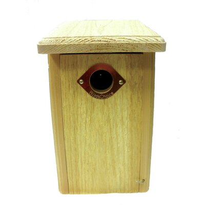 Cedar Nest Roosting Box 13 in x 8 in x 7 in Bluebird House