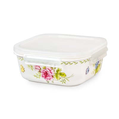 Ashley Square 11 Oz. Food Storage Container