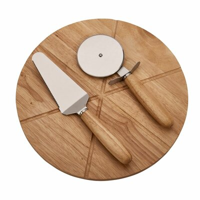 3 Piece Wood Pizza Board