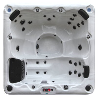 Winnipeg 6-Person 35-Jet Plug and Play Spa with Waterfall