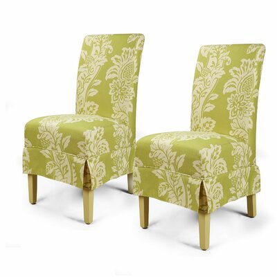 Parsons Chair Upholstery: Green