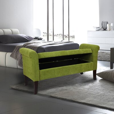 Storage Bench Color: Green