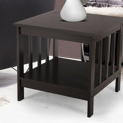 Nightstand Color: Brown