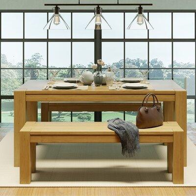 Kubo Wood Bench Color: Garapa