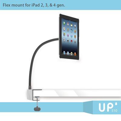 F2 iPad Swan Neck Mount