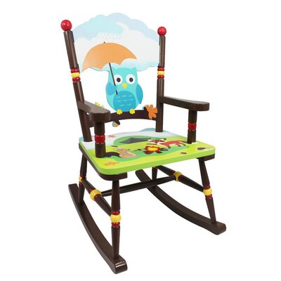 Fantasy Fields by Teamson Enchanted Woodland Children's Rocking Chair