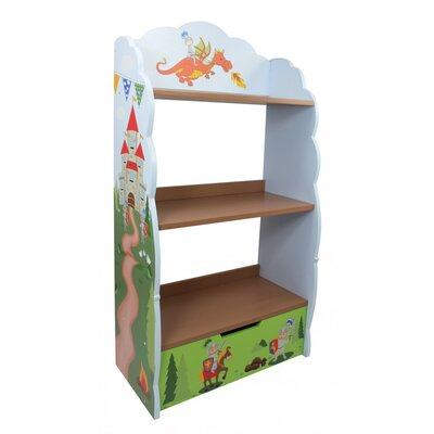 Fantasy Fields by Teamson Knights And Dragons Children's 104cm Bookcase