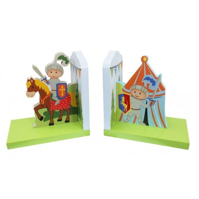 Fantasy Fields by Teamson Knights And Dragons Bookends