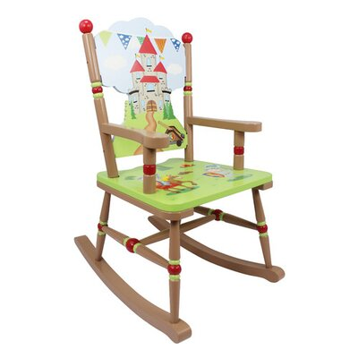 Fantasy Fields by Teamson Knights And Dragons Rocking Chair