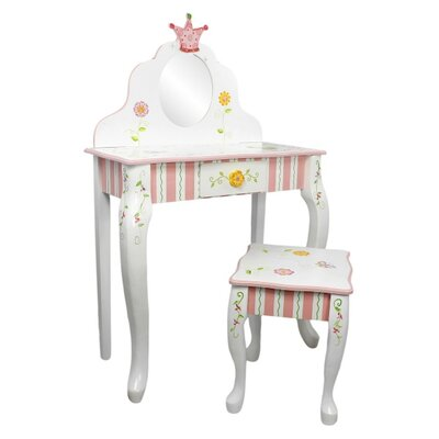 Fantasy Fields by Teamson Princess and Frog Dressing Table Set