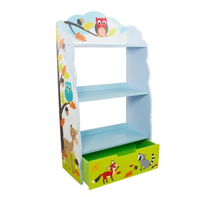 Fantasy Fields by Teamson Enchanted Woodland Children's 106cm Bookcase