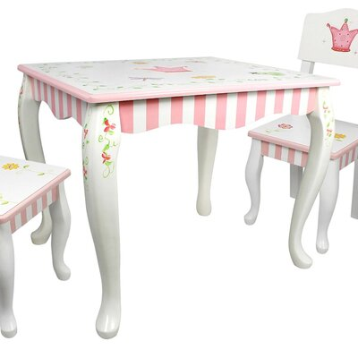 Fantasy Fields by Teamson Princess and Frog Children's Coffee Table