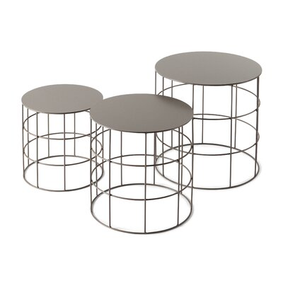 Atipico 3 Piece Reton Coffee Table Set