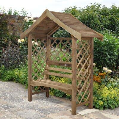 Forest Garden Sienna 2 Seater Wooden Arbour