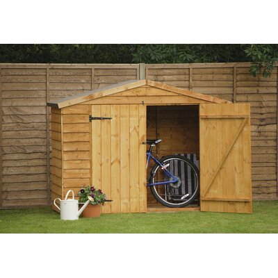 Forest Garden 6 x 3 Wooden Bike Shed