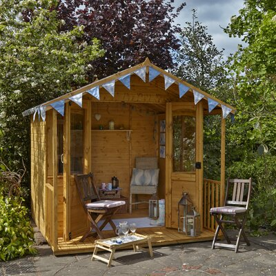Forest Garden 8 x 8 Summerhouse