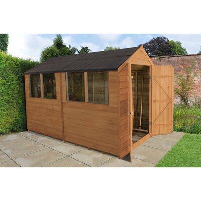 Forest Garden 6 x 10 Wooden Storage Shed