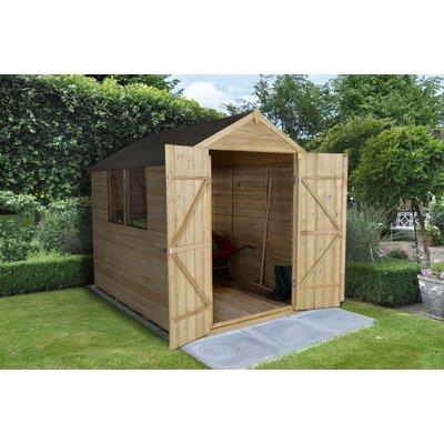 Forest Garden 6 x 8 Wooden Storage Shed