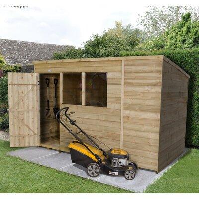 Forest Garden 10 x 6 Wooden Storage Shed