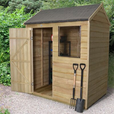 Forest Garden 6 x 4 Wooden Storage Shed