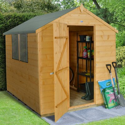 Forest Garden 6 x 8 Wooden Storage Shed