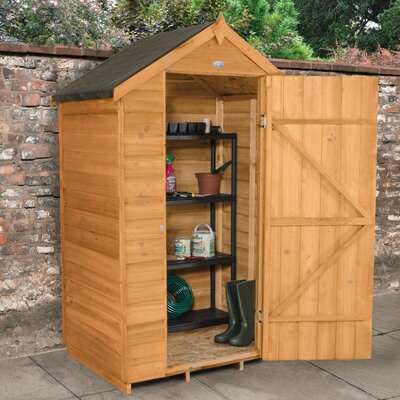 Forest Garden 4 x 3 Wooden Storage Shed