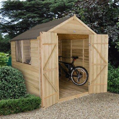 Forest Garden 7 x 7 Wooden Storage Shed