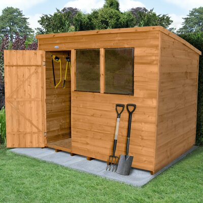Forest Garden 8 x 6 Wooden Storage Shed