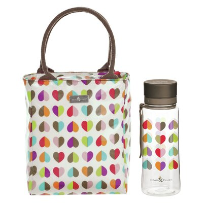 Beau & Elliot Confetti 21cm Lunch Tote and Hydration Bottle