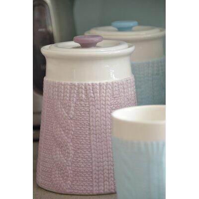 Beau & Elliot Chunky Knit Storage Jar