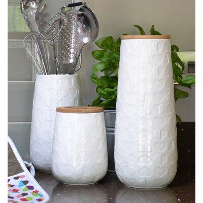 Beau & Elliot Embossed Large Storage Jar