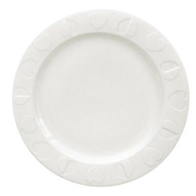 Beau & Elliot Embossed White Dinner Plates