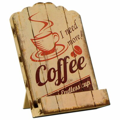 Carrick Design Endless Coffee Recipe Book Holder