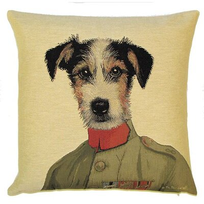 BelgianTapestries Fox Terrier Cushion Cover