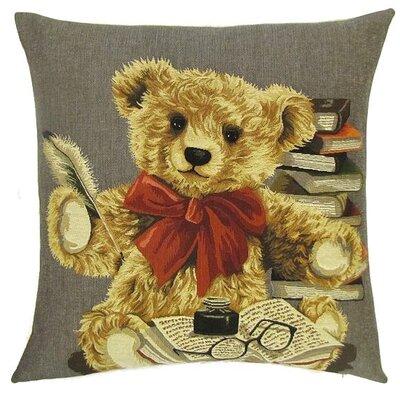 BelgianTapestries Teddy Bear Cushion Cover