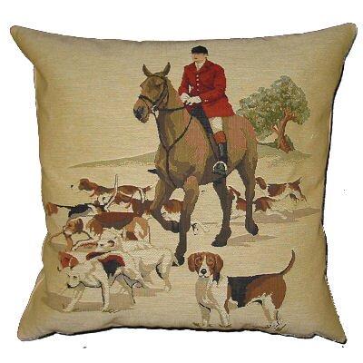 BelgianTapestries Foxhunter Cushion Cover