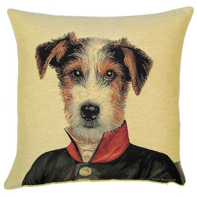 BelgianTapestries Fox Terrier Cushion Cover