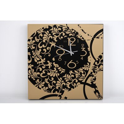 Garpe Interiores 40cm Wooden Wall Clock