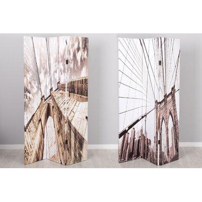 Garpe Interiores 180cm x 120cm Canvas 3 Panel Room Divider